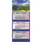 Календарь 2018 настенный трехблочный по 12 листов на спирали Атберг98 310х685 мм Альпийская сказка Пейзаж